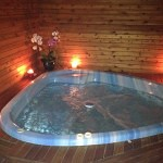 room with jacuzzi hot tub for romantic getaway